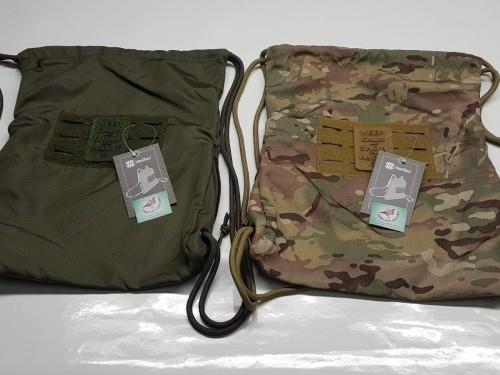 bolsa verde y camo