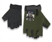 guantes cortos verdes